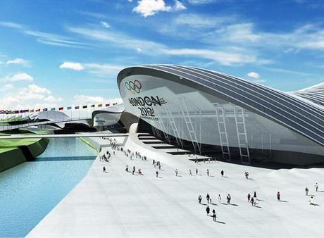 Giochi olimpici 2012 zaha hadid firma l aquatics centre for Piscine zaha hadid