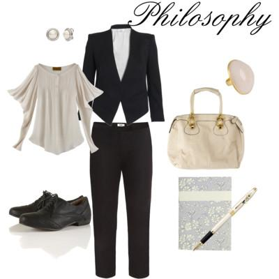 7- Outfit rétro-contemporaneo: intellectual chic