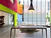 Decameron Furniture Store: container showroom MK27