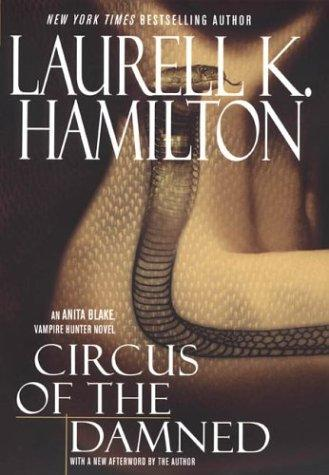 Cover of Circus of the Damned by Laurell K. Hamilton