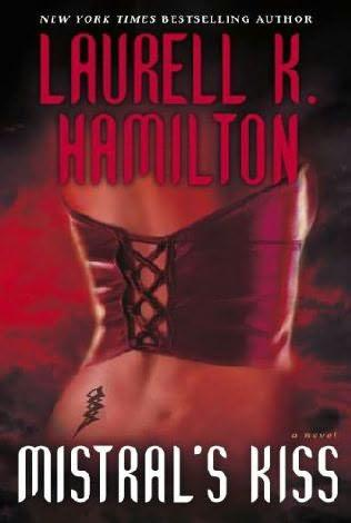 book cover of Mistral's Kiss (Meredith Gentry, book 5) by Laurell K Hamilton