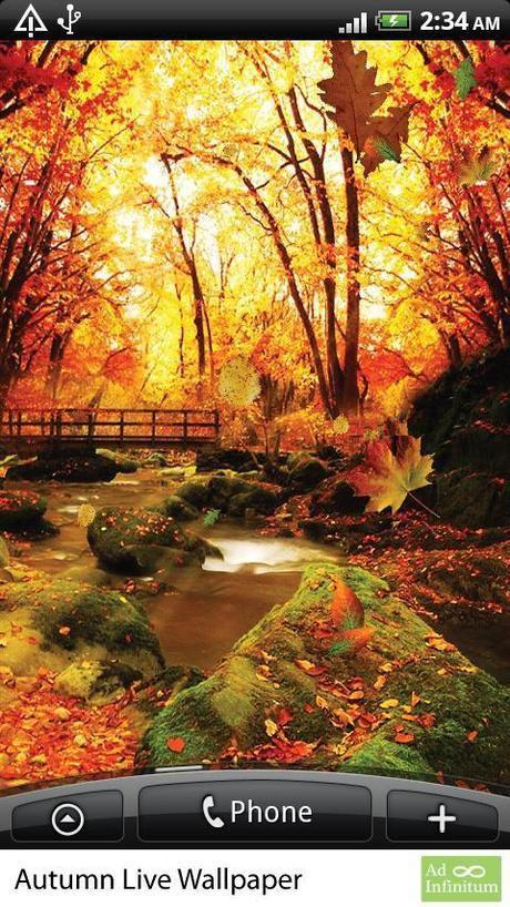 Sfondi autunno animati