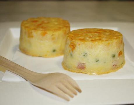 Clafoutis salato o frittata 'e maccarune?