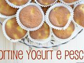 Tortine pesca yogurt, muffin fallito
