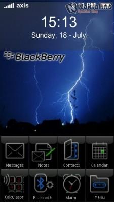 BlackBerry Home screen v1.0