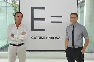 E = Costume National + OVS industry