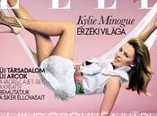 "KYLIE MINOGUE copertina ""ELLE"" Ungheria"