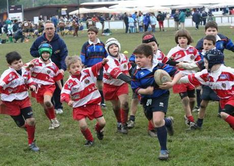 Squadra giovanile di Rugby, un gruppo compatto anche grazie al Mental Training