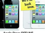 Apple Store OFFLINE: arrivo preordini iPhone [AGGIORNATO