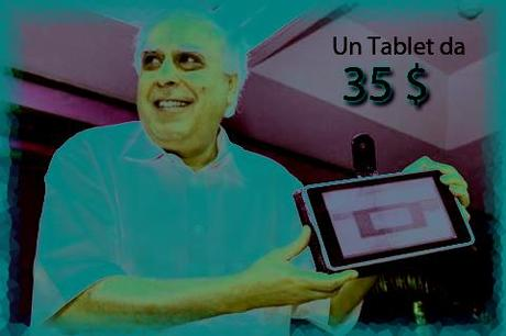 Un tablet da 27€ ? Ci ha pensato l'India