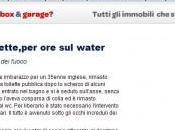 Colla toilette, water
