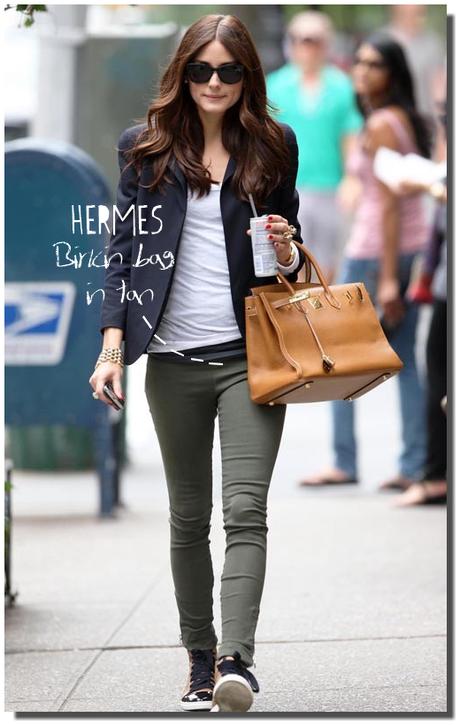 Olivia palermo birkin herm s lanvin shoes paperblog for Hermes palermo