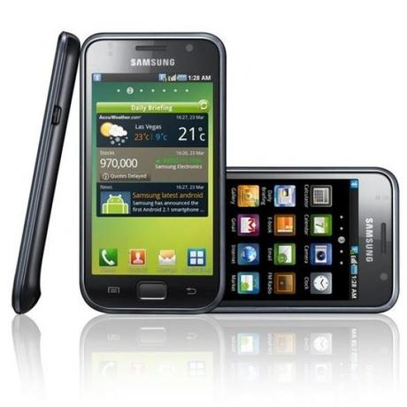 Firmware I9000XXJP3 con Android Froyo 2.2 per Samsung Galaxy S