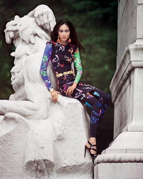 Versace + H&M; on Vogue Russia