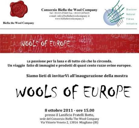 Wools of Europe Exibition
