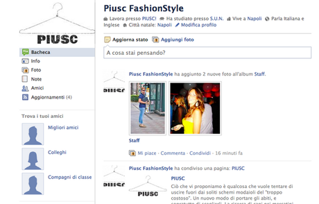 ADD PIUSC! ON FACEBOOK and FOLLOW US ON TWITTER