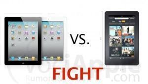 Ecco tutte le differenze tra l'Amazon Kindle Fire e l'iPad 2: una su tutte? il prezzo!
