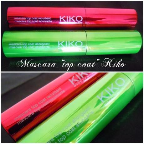 Curling Top Coat Mascara Kiko [Rosso]