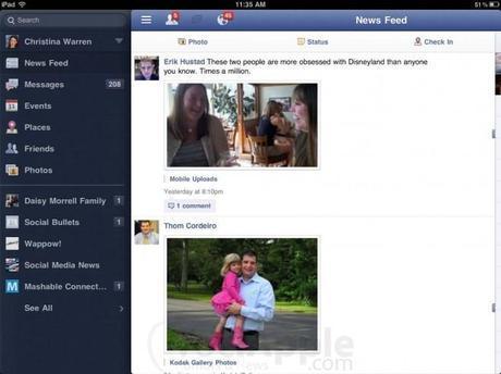 TechCrunch: Facebook per iPad e Spartan  pronti al lancio!