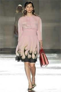 Prada Woman's Spring Summer 2012: Ironia e dolcezza tra