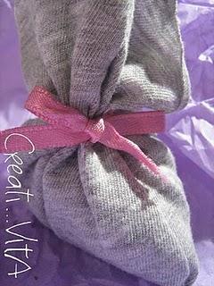 [IDEA RICICLO] Lavender bags - Sacchettini di lavanda