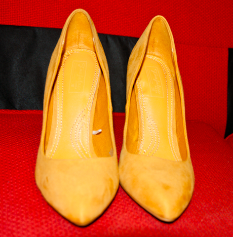 ShoeRoom #33 Zara TRF yellow babies