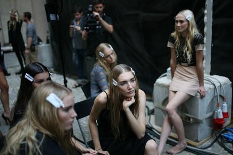 Risultati immagini per milano fashion week backstage