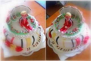 Torta paracadutista e corso decorazione biscotti natalizi - Decorazioni torte natalizie ...