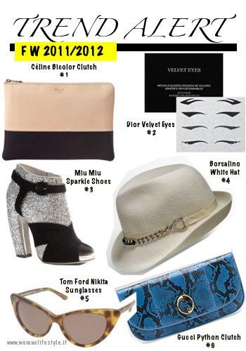 Trend Alert/ Glitter, Python, Borsalino & Co. never without