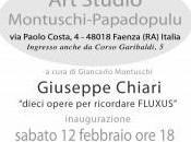 """""""Giuseppe Chiari:dieci opere ricordare Fluxus&#..."""