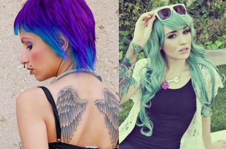 Tagli capelli moda donna 2012: quest'anno esplode la tinta ...
