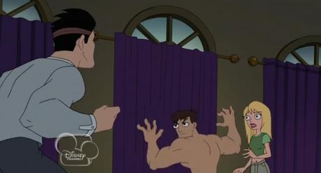 Cartone animato video di sesso Phineas e Ferb