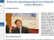 Morgan Terna, Flavio Cattaneo titolo giust...