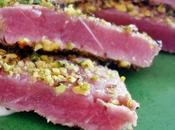 Cucina (con)Fusion.. Filetto tonno scottato pistacchi maionese allo zenzero!