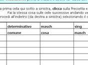 Fare l'analisi grammaticale guida Excel
