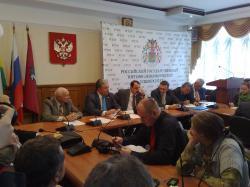 Incontro con l'ambasciatore della Siria a Mosca organizzato da S. Baburin