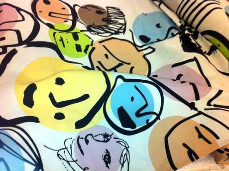 Da ikea stampe e patterns creati dagli studenti di design - Ikea tendaggi e tessuti ...