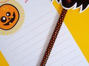 Halloween stile Paper Glitter