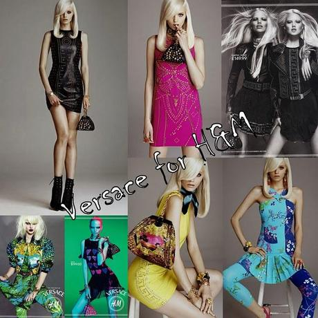Versace by H&M...some; collection's pics!