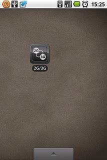 WIDGET 2G-3G OnOff... scorciatoia per passare da linea 2G a 3G e viceversa!