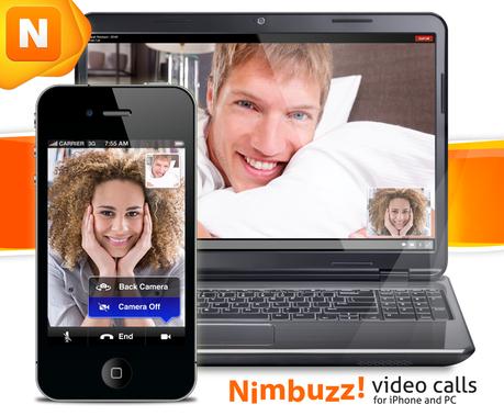 iPhone e PC con videochiamata da Nimbuzz : E' Ufficiale!