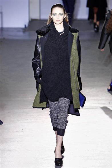 Fall/winter trend : maxi pull + cintura