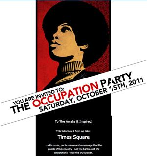 SHEPARD FAIREY - THE OCCUPATION PARTY
