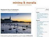 MINIMA MORALIA blog culturale Minimum