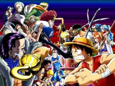 One Piece, anime, ranking,