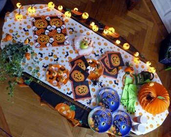 Apparecchiare e decorare la tavola per halloween paperblog - Decorare la casa per halloween ...