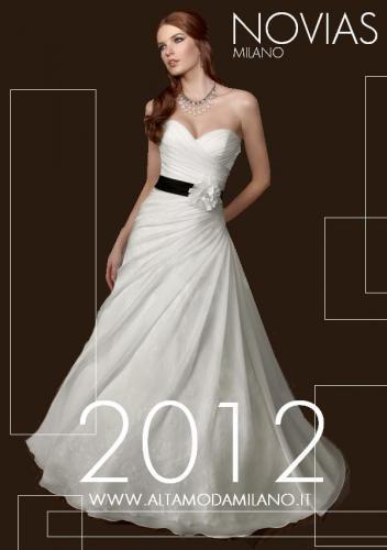 c7518ddea754 Abiti sposa colorati milano NOVIAS collecion 2012 c è davvero da scegliere  per tutti i colori persino NERO
