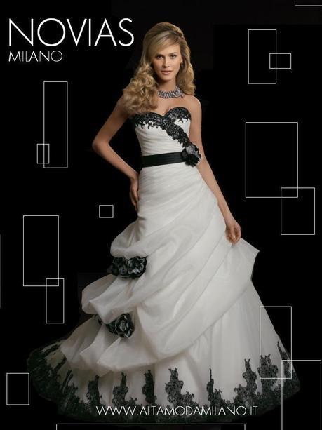 5a66d965164c Abiti sposa colorati milano NOVIAS collecion 2012 c è davvero da scegliere  per tutti i