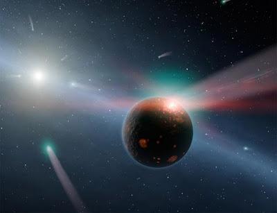 comete pianeta eta corvi
