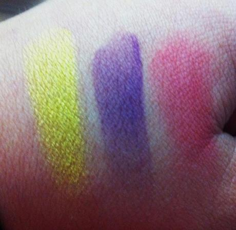 M.A.C. Fall Colour Eyeshadows